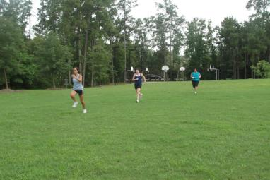 Sprints - Girls workout session - Mobile Personal Training - Spring Texas and The Woodlands