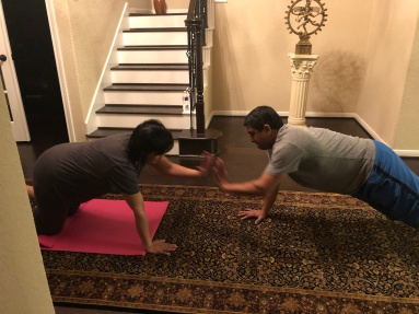 Personal trainer in home, in-home personal training