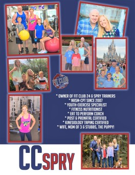 CC - Owner - Spry Trainers & Fit Club 24 Personal Trainer