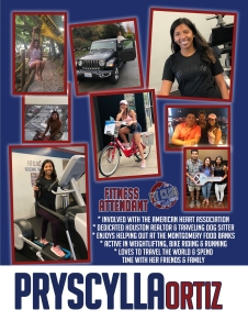 Pryscylla - Spry Trainers & Fit Club 24 Personal Trainer; Fitness Attendant